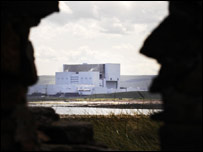 Torness Nuclear Power Station, near Dunbar