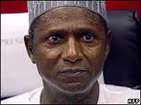 Nigerian President Yar'Adua