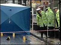 Bus death scene