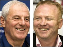 Walter Smith and Alex McLeish brought success to Scotland