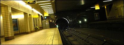 Govan platform and track