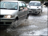 Newtown flooding