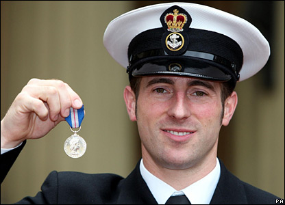 Royal Navy Petty Officer James O'Donnell