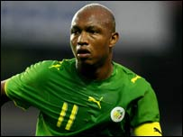 Senegal's El Hadji Diouf
