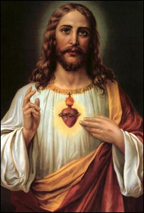 The Sacred Heart of Jesus (Pic: MEN syndication)
