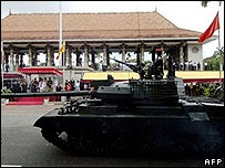Tank in Colombo