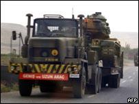 قوات تركية في اقليم  شيرناخ جنوب شرقي تركيا