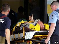 Раненый в результате инцидента
