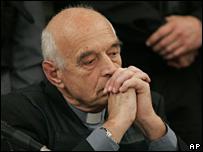 Christian Von Wernich hears the verdict