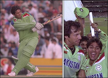Inzamam helped Pakistan to their only World Cup triumph in 1992
