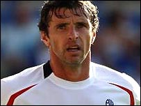 Bolton's Gary Speed