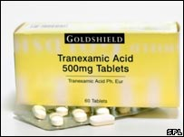 Tranexamic Acid. Photos Credit: SPL