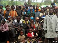 Displaced in DR Congo