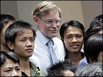 Robert Zoellick in Vietnam recently