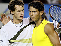 Andy Murray y Rafael Nadal