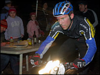 A mountain biker at a previous Relentless 24