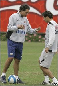Del Solar y Claudio Pizarro