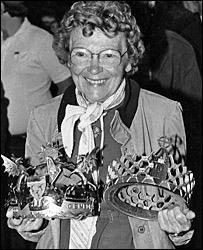 Winning her second Eisteddfod crown in 1983