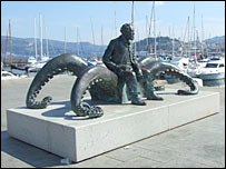 Statue. Image: BBC