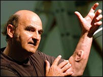 North News photo of Stelarc