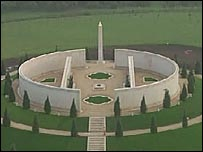 The National Armed Forces Memorial at Alrewas