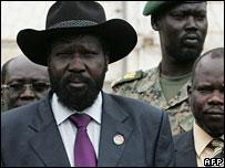 نائب الرئيس السوداني سلفا كير