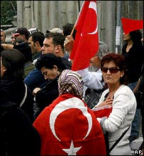 Turkish nationalist demonstration