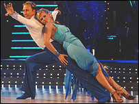 Ian Waite and Zoe Ball