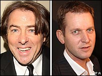 Jonathan Ross and Jeremy Kyle