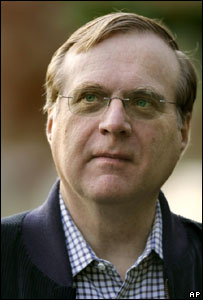 Paul Allen, AP