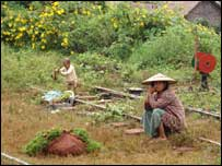 Poverty in Hsipaw, Shan State (Photo: Tom Ross)