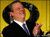 Nobel laureate Al Gore