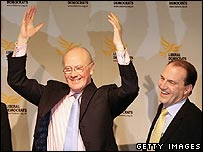 Sir Menzies Campbell and Simon Hughes