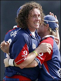 Ryan Sidebottom was again in fine form for England