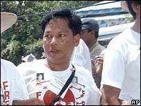 Htay Kywe in Rangoon - 27/5/07