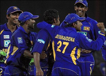 Sri Lanka fielders