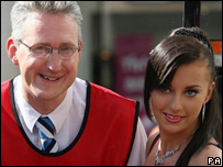 Lembit Opik and girlfriend, Cheeky Girls singer Gabriela Irimina