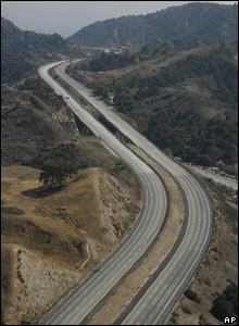 California freeway