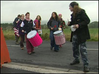 Protest at Menwith Hill