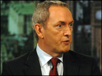 John Hutton MP: photographer Jeff Overs/BBC