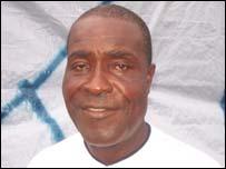 Former Leone Stars head coach, John Jebbor Sherington