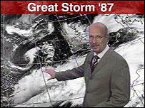 BBC weatherman Peter Gibbs (Image: BBC)