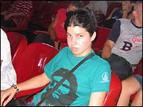 Irania Izquierdo, estudiante cubana  (Foto: Raquel P�rez)