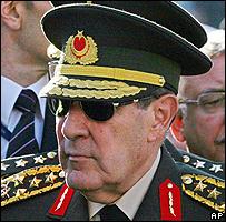 رئيس أركان الجيش التركي
