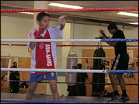 Boxing club for immigrants in Malmo