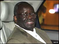 UN envoy Ibrahim Gambari in Thailand on 14 October 2007