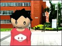 Screengrab from festival trailer, De Montfort University