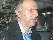Zoran Kostic leaving the High Court in London on  July 18, 2007