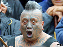 Tame Iti (file photo, May 2004)