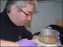 Mud samples (BBC)